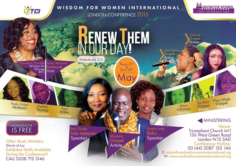London Conference 2015 @ Triumphant Church International | London | United Kingdom