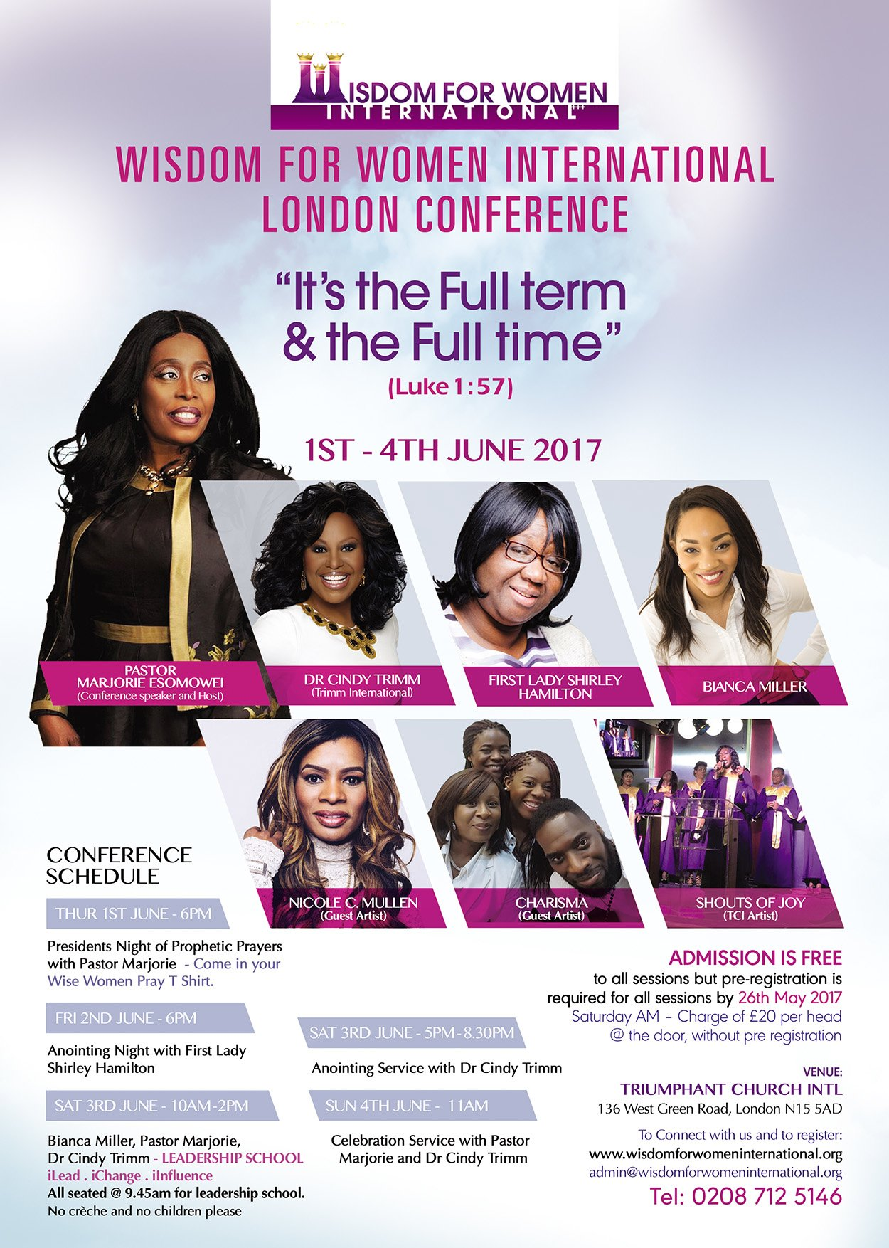 Wisdom for Women London Conference