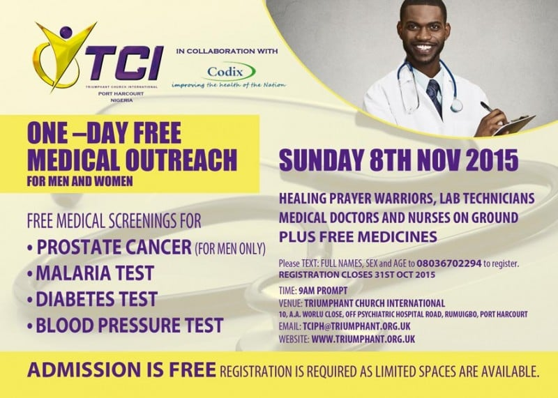 One - Day Free Medical Outreach