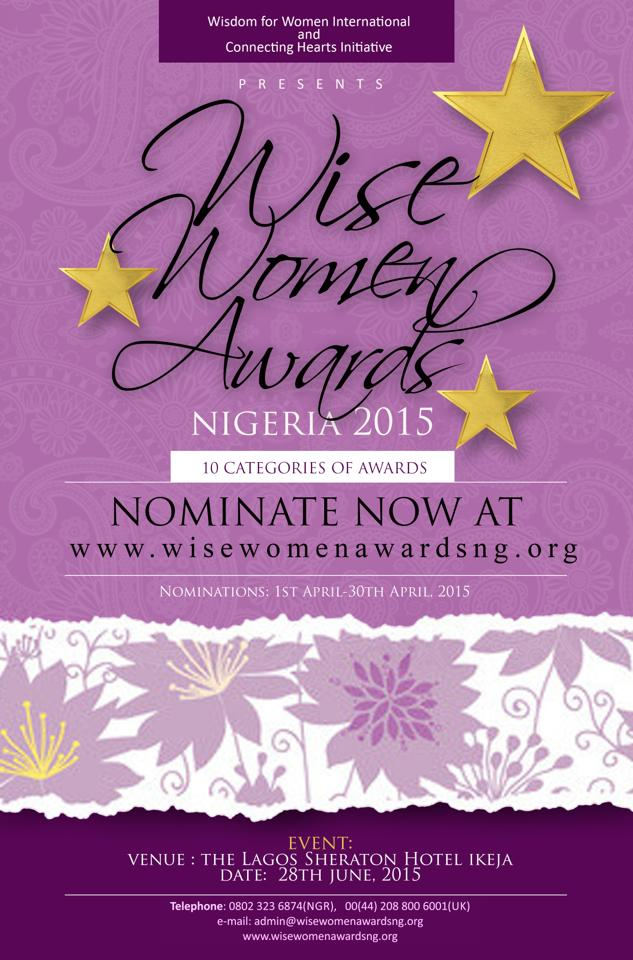 Wise Women Awards Nigeria 2015 @ The Lagos Sheraton Hotel Ikeja