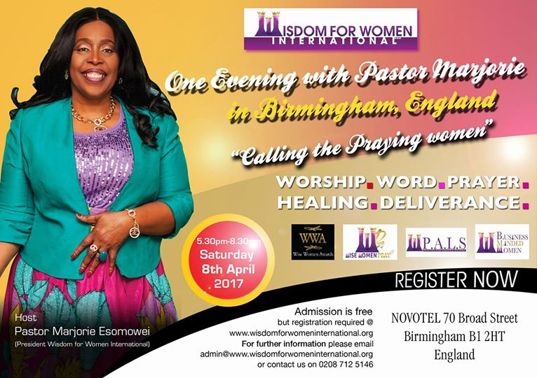 One evening with Pastor Marjorie in Birmingham, England @ England | United Kingdom