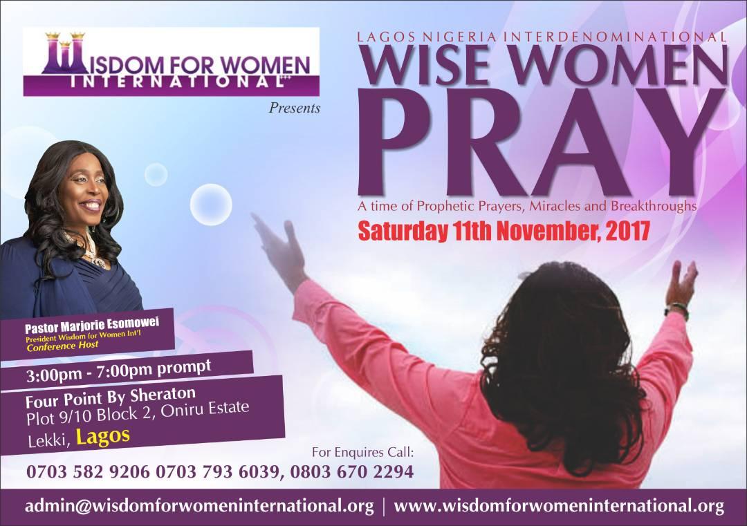 Lagos Nigeria Interdenominational Wise Women Pray