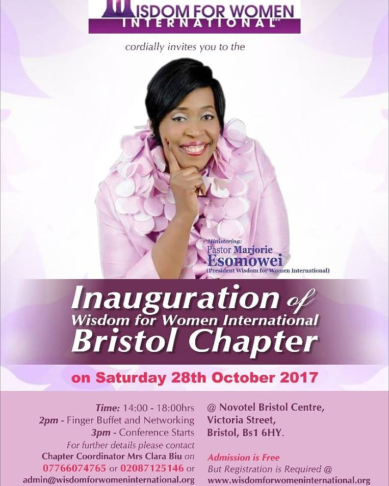 Inauguration of Wisdom for Women International Bristol Chapter