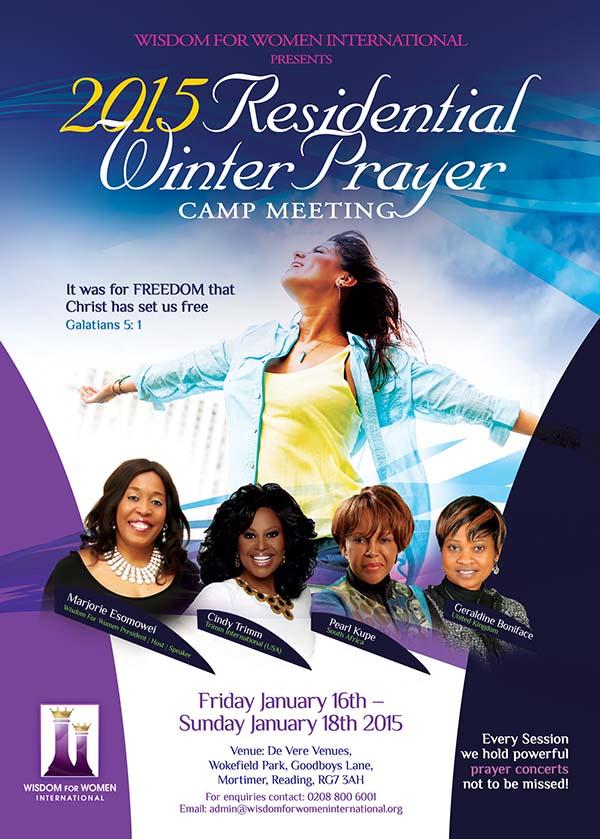 2015 Residential Winter Prayer Camp Meeting @ De Vere Venues, Wokefield Park, Goodboys Lane, Mortimer, Reading, RG7 3AH | Mortimer | United Kingdom