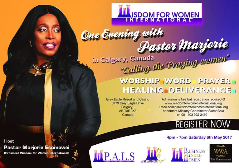 One Evening with Pastor Marjorie in Calgary, Canada