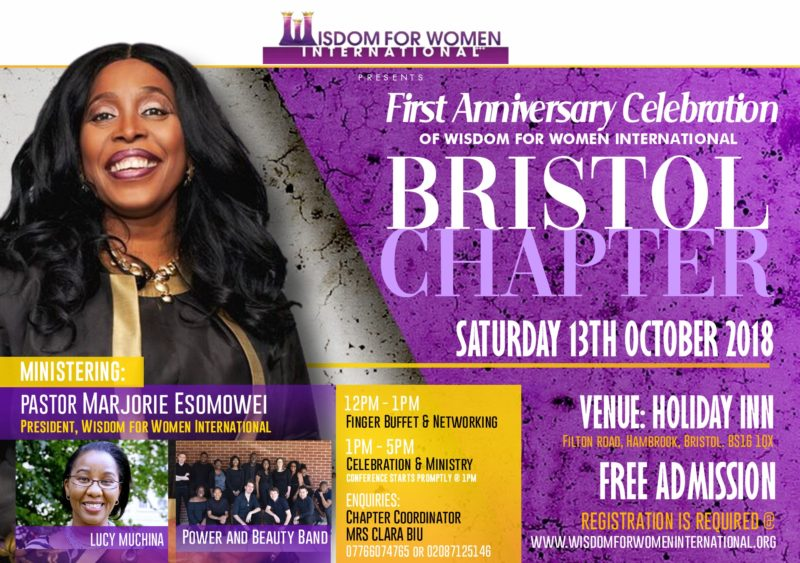 1st Anniversary Celebration of Wisdom for Women International Bristol Chapter
