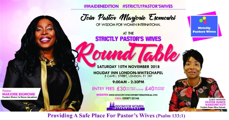 Strictly Pastor's Wife Roundtable