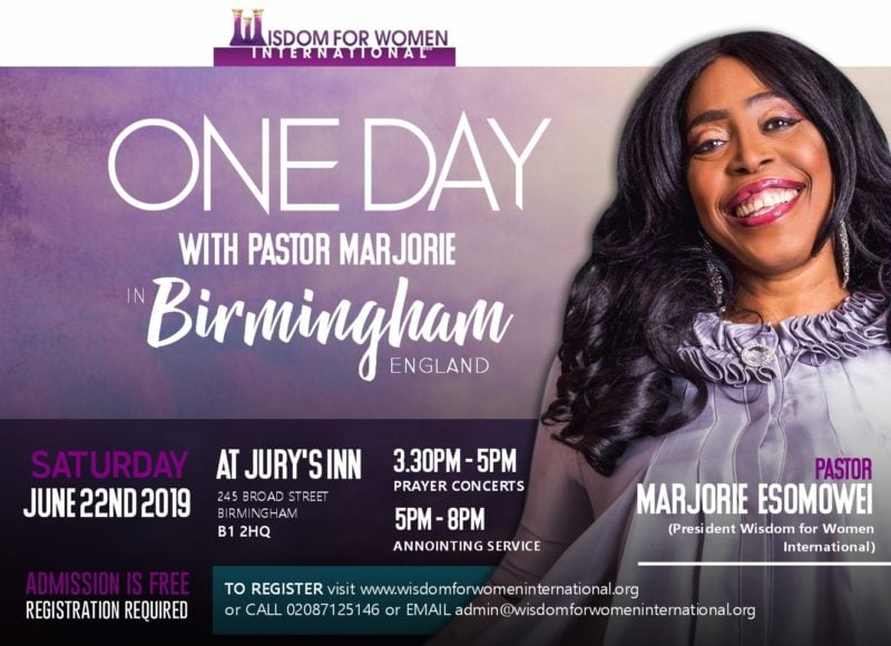 One Day with Pastor Marjorie in Birmingham