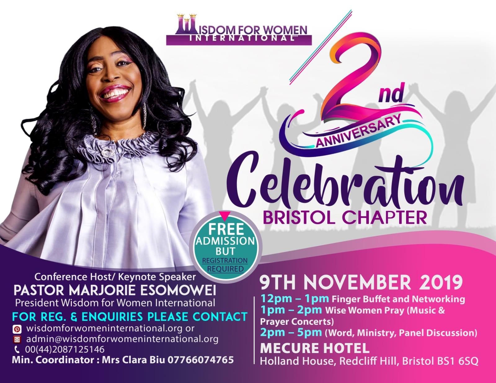 2nd Anniversary Celebration Bristol Chapter