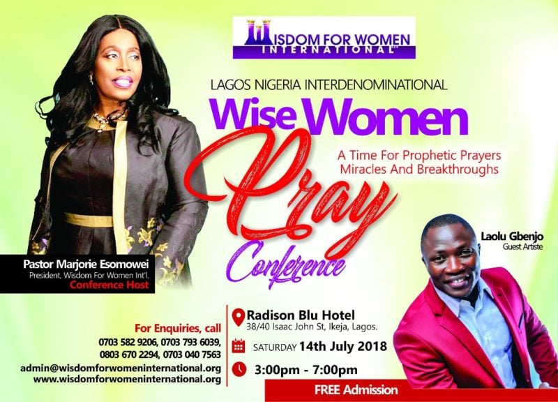 Wise Women Pray Conference