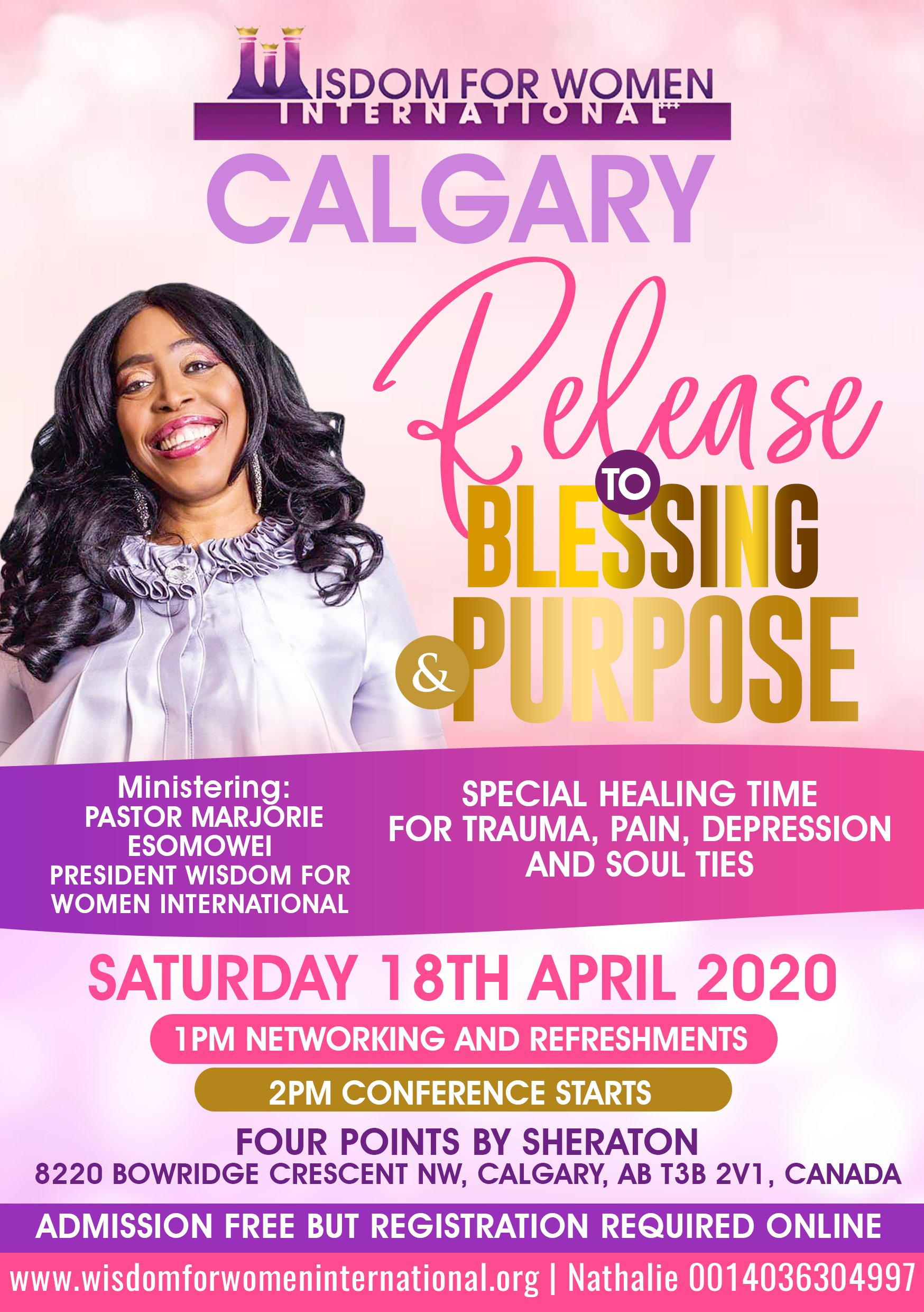 Release to Blessing & Purpose