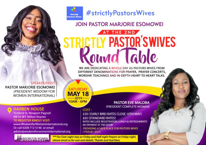 2nd Strictly Pastor's Wives Round Table